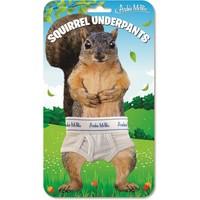 Archie McPhee Squirrel Underpants