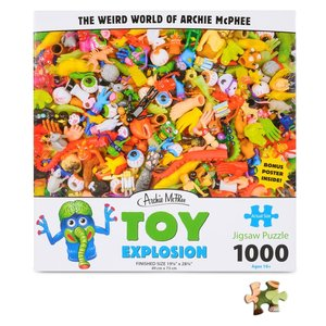 Archie McPhee Puzzle - Toy Explosion