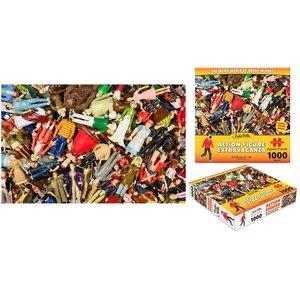 Archie McPhee Puzzle - Action Figure Extravaganza