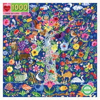 eeBoo Tree of Life - 1000 Piece Square Puzzle