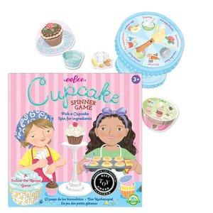 eeBoo Cupcake Spinner Game - A Follow-the-Recipe Game