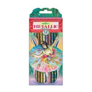 eeBoo French Dancer Metallic Pencils - Set of 12