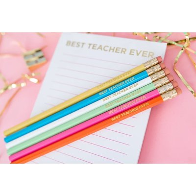 Taylor Elliot Designs Best Teacher Ever List Pad