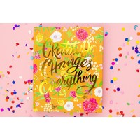 Taylor Elliot Designs Gratitude Changes Everything Journal