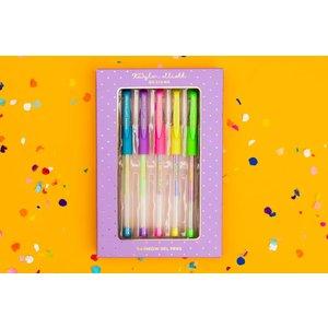 Taylor Elliot Designs Rainbow Gel Pen Set