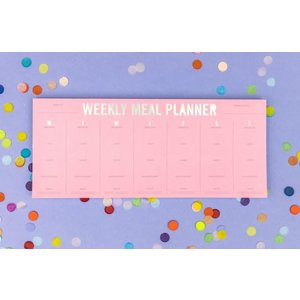 Taylor Elliot Designs Intentional Eating Daily Meal Planner Notepad