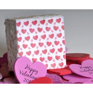 The Crispery The Crispery - Valentines Day Mini Hearts (Marshmallow  Rice Treat)