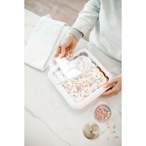 Fancy Panz Fancy Panz 2 in 1 - White - (8x8 size) - Dress up and Protect your Foil Pan!