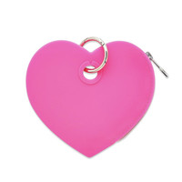 Oventure Silicone Heart Pouch - Tickled Pink