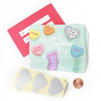 Inklings Paperie Sweetheart Valentines Day Cards - (18 Pack)