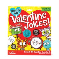 Paper House Productions Scratch Off Valentines Jokes Cards