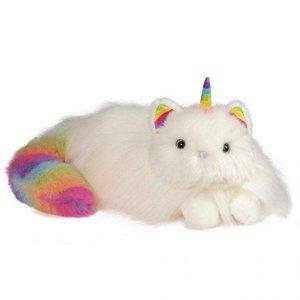 Douglas Toys Ziggy Rainbow Fuzzle - Plush Caticorn
