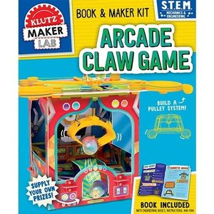 Klutz Arcade Claw Game - Book & S.T.E.M. Kit