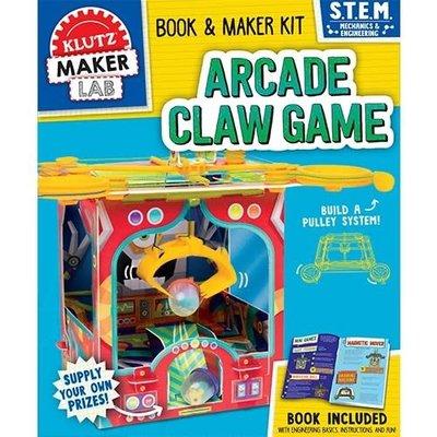 Klutz Arcade Claw Game - Book & S.T.E.M. Kit