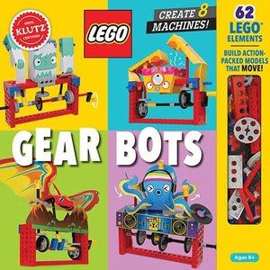 Klutz Lego Gear Bots - Create 8 Machines
