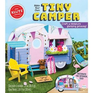 Klutz Make Your Own Tiny Camper - Craft a miniture glamping getaway!