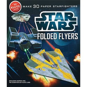 Klutz Star Wars Folded Flyers - Make 30 Paper Starfighters