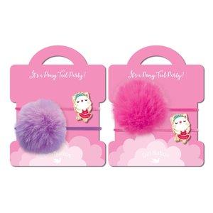 Girl Nation Pony Tail Whimsy - Ballerina Kitty