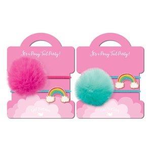 Girl Nation Pony Tail Whimsy - Rainbow
