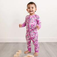 Little Sleepies Sweetheart Floral Zippy Bamboo Pajama Set