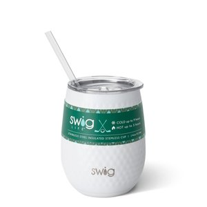 Swig 14 oz Stemless Wine Cup - Golf Partee