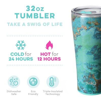 Swig 32 oz Tumbler - Copper Patina