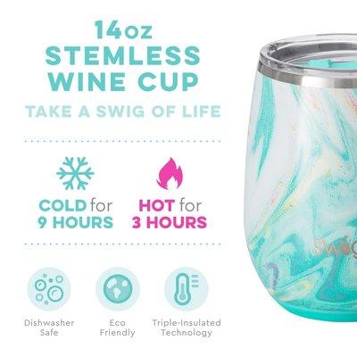 Swig 14 oz Stemless Cup - Wanderlust