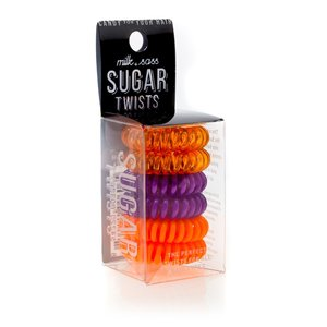 Milk+Sass SUGAR TWISTS Coil Hair Ties Orange Bossom