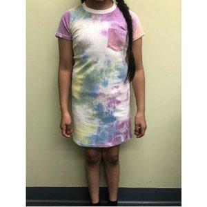 Sadie & Sage Sweet Dreams Lettuce Tshirt Dress Multi