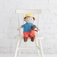 Manhattan Toy Playdate Friends Alex (Peach w/ bear)