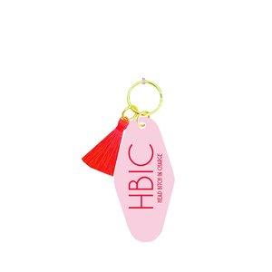 Fun Club Head Bitch In Charge (HBIC) Keychain