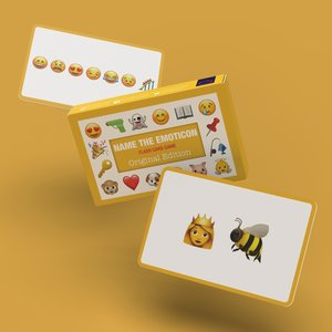 Bubblegum Stuff Name The Emoticon - Original Edition (Flash Card Game)