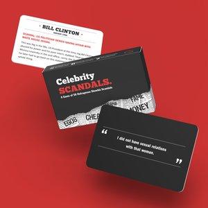 Bubblegum Stuff Celebrity Scandals - A Card Game of 56 Outrageous Showbiz Scandals