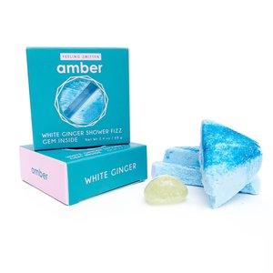 Feeling Smitten Amber - Shower Steamer (Gem Inside)