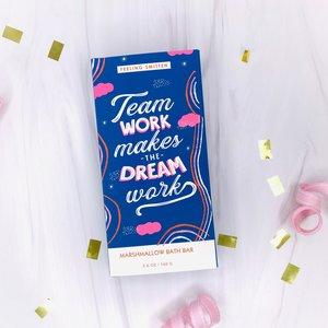 Feeling Smitten Team Work Makes the Dream Work - Rainbow Bath Bar