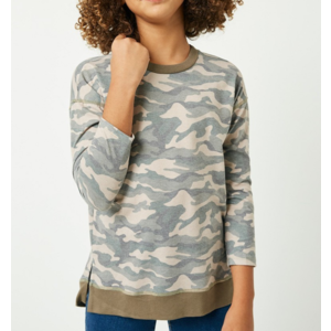 Hayden Long Sleeve Camo Tee - GY2251