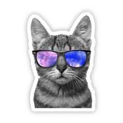 Big Moods Cat Sunglasses Sticker