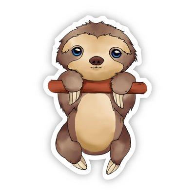 Big Moods Baby Sloth Sticker