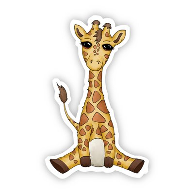 Big Moods Baby Giraffe Sticker