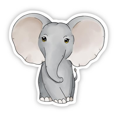 Big Moods Baby Elephant Sticker