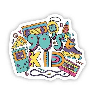 Big Moods 90s Kid Sticker