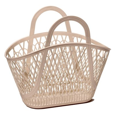Sun Jellies Betty Basket - Latte