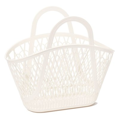 Sun Jellies Betty Basket - Cream