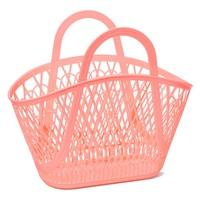 Sun Jellies Betty Basket - Peach
