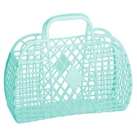 Sun Jellies Retro Basket Large - Mint