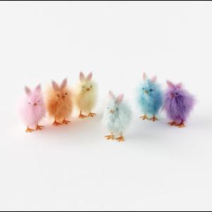 """Glitterville Feathery Chicks (5"""")"""