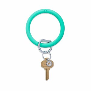 Oventure Bright Collection - Silicone Big O® Key Ring In The Pool