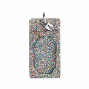 Oventure Silicone ID Case - Rainbow Confetti