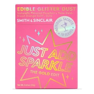 Smith & Sinclair Just Add Sparkle - The Gold Edit (Edible Glitter Dust)