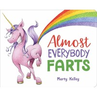 Sterling Publishing Almost Everybody Farts - Hardcover Picture Book